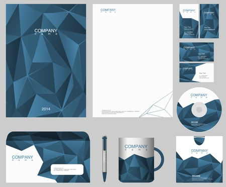 Foto de Corporate IDENTITY design template   - Imagen libre de derechos