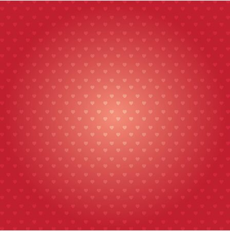 Illustration for Hearts vector pattern design. Happy Valentines day abstract background - Royalty Free Image