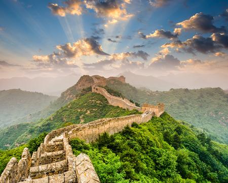 Photo for Great Wall of China at the Jinshanling section. - Royalty Free Image