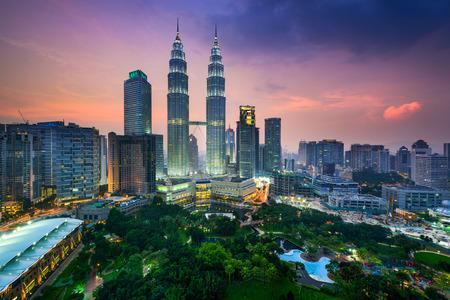 Photo for Kuala Lumpur, Malaysia city skyline. - Royalty Free Image