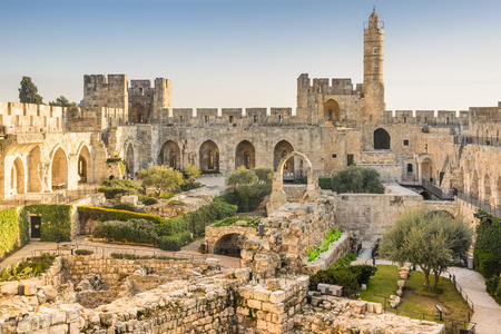 Photo for Jerusalem, Israel at the Tower of David. - Royalty Free Image