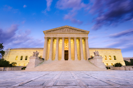 Photo for United States Supreme Court Building in Washington DC, USA. - Royalty Free Image