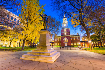 Foto de Independence Hall in Philadelphia, Pennsylvania, USA. - Imagen libre de derechos