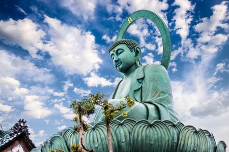Foto de Takaoka, Japan at the Great Buddha. - Imagen libre de derechos