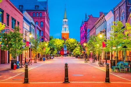 Photo for Burlington, Vermont, USA at Church Street Marketplace. - Royalty Free Image