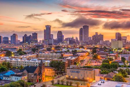 Photo pour New Orleans, Louisiana, USA skyline. - image libre de droit