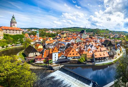 Foto de The amazing city of Cesky Krumlov in the Czech Republic. European historical center and splendor. - Imagen libre de derechos