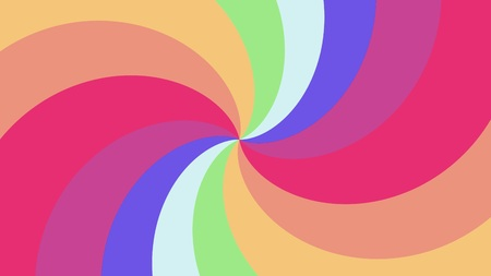 Foto de Spiral shape rainbow colors illustration background new quality universal colorful joyful cool nice stock image - Imagen libre de derechos