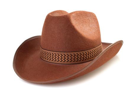 Foto de cowboy hat isolated on white background - Imagen libre de derechos