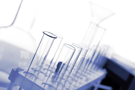 Foto de Test tubes in laboratory - Imagen libre de derechos