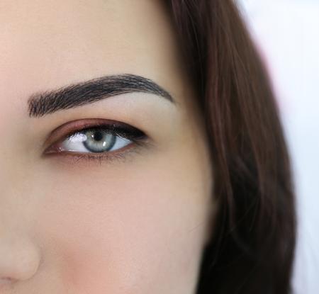 Foto de Young beautiful woman in cosmetology salon - Imagen libre de derechos
