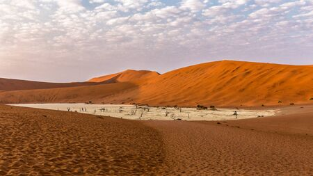 Photo for early morning at Deadvlei, Namibia - Royalty Free Image