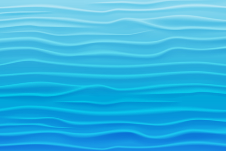 Illustration pour Abstract Water Background of Blue Waves - image libre de droit