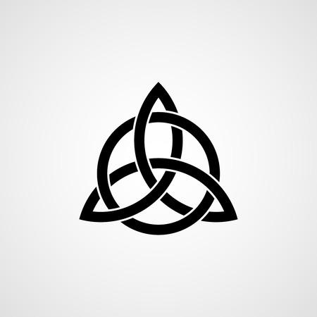 Illustration pour Celtic trinity knot. - image libre de droit