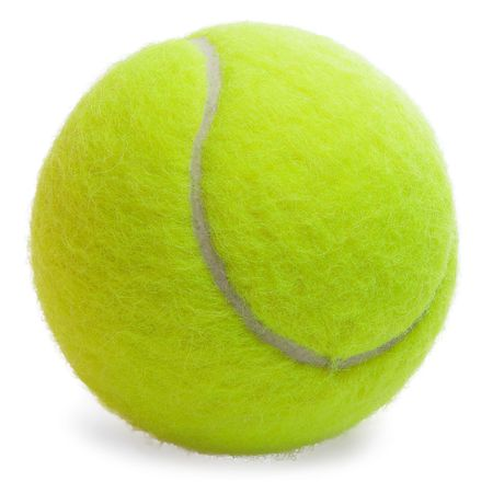 Tennis Ball isolated on the white background