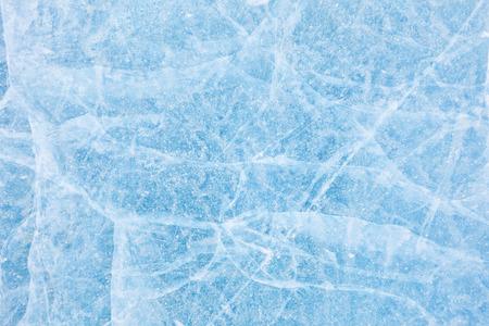 Foto de Texture of ice of Baikal lake in Siberia - Imagen libre de derechos
