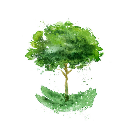 Illustration for Tree. - Royalty Free Image