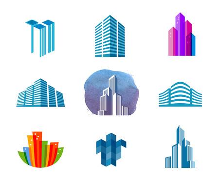 Foto für the city on a white background. vector illustration - Lizenzfreies Bild