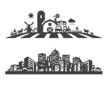 Foto de building. Set of icons on a white background. vector illustration - Imagen libre de derechos