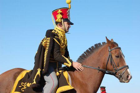 Russian Hussar. Kiev\'s Hussar Regiment. Crimean War time