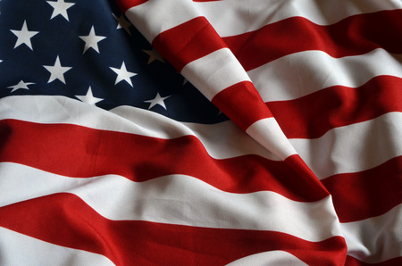 Photo pour american flag background - image libre de droit