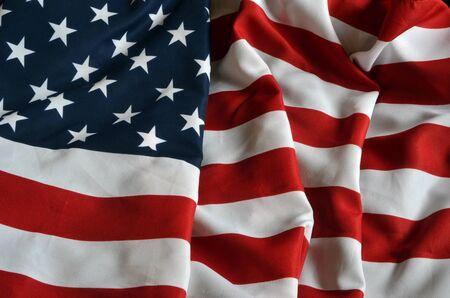 Foto de american flag background - Imagen libre de derechos