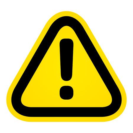 Illustration pour Attention Sign - image libre de droit