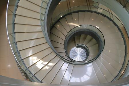 Foto de spiral staircase at Sasana Kijang, Kuala Lumpur - Imagen libre de derechos