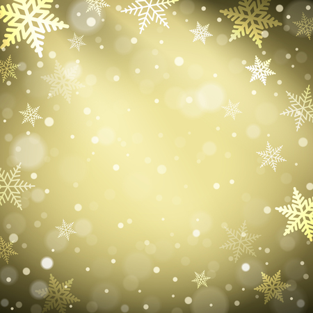 Illustration pour Christmas snowflakes on colorful background. Vector illustration - image libre de droit