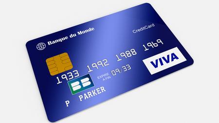 Photo pour Credit card - image libre de droit