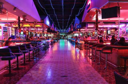 Photo for PATTAYA, THAILAND - APRIL 4, 2015: Night club - Royalty Free Image