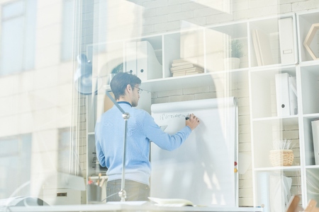 Photo pour IT Professional Planning Project - image libre de droit