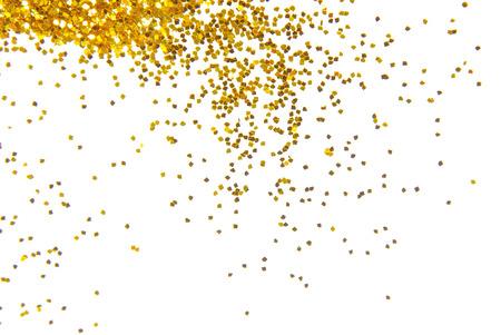Photo for golden glitter frame background - Royalty Free Image