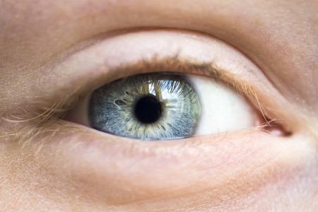 Foto de Grey human eye - Imagen libre de derechos