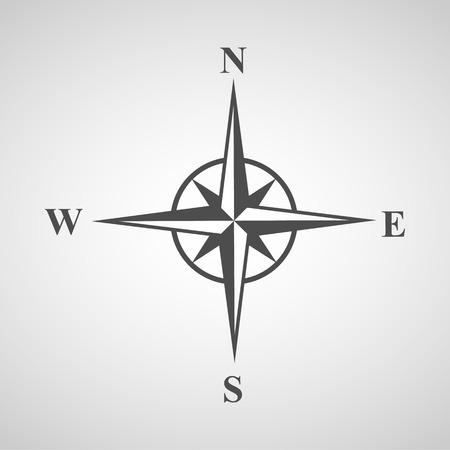 Ilustración de compass icons set great for any use. - Imagen libre de derechos