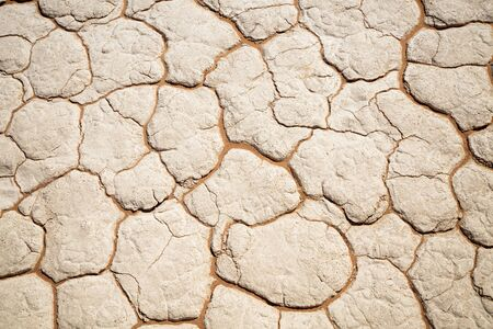 Photo for Abstract sand pattern in dried river bed in Deadvlei Namibia - Royalty Free Image