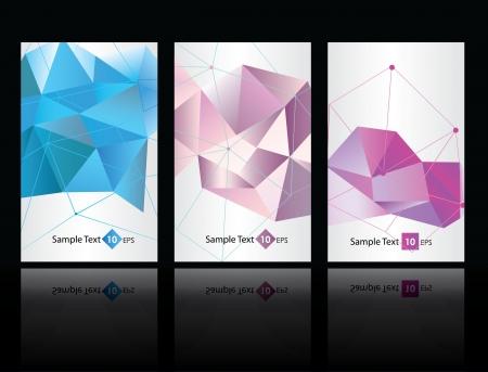 Illustration pour geometric backgrounds - image libre de droit