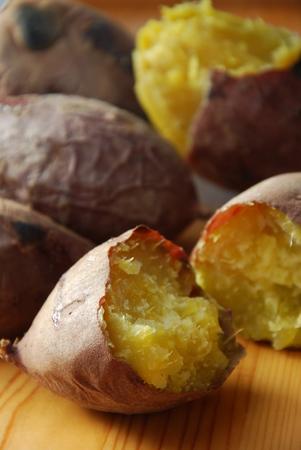 Photo for baked sweet potato - Royalty Free Image