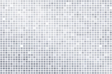 Ilustración de Silver mosaic background illustration - Imagen libre de derechos