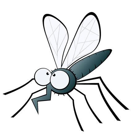 funny cartoon mosquito