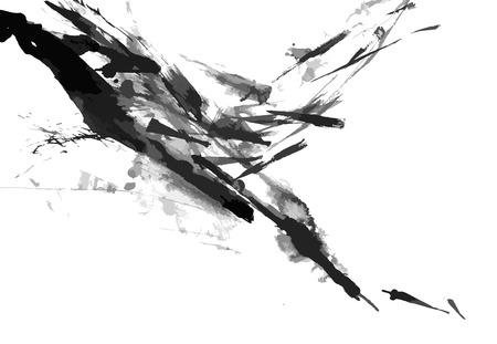 Illustrazione per Abstract ink paint background - Immagini Royalty Free
