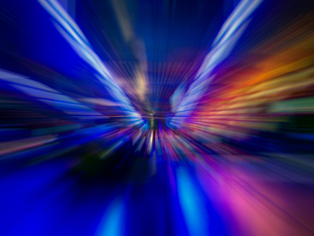 Foto per Colorful abstract lines - Immagine Royalty Free
