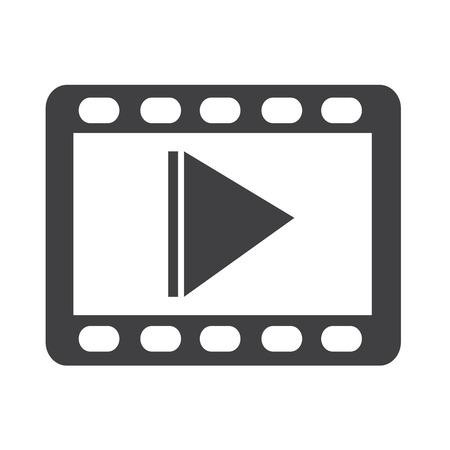 Illustration pour video icon - image libre de droit