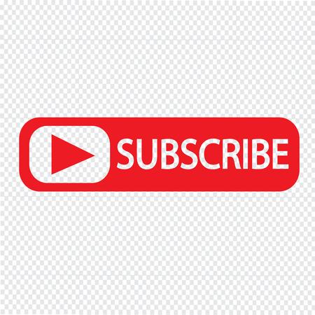 Illustration pour Subscribe icon symbol Illustration design - image libre de droit