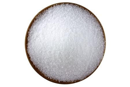 Photo pour Closeup photo of fine Magnesium sulfate  Epsom salts  - image libre de droit