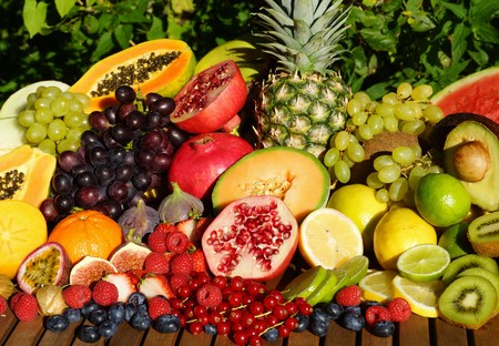 Photo for Tropical fruit mix - Royalty Free Image