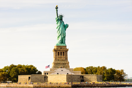 Foto de Statue of Liberty, New York city, United States of America - Imagen libre de derechos
