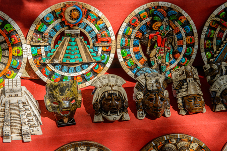 Photo for Authentic handcraft souvenirs of maya civilisation - Royalty Free Image