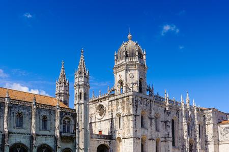 Foto per Jeronimos Monastery or Hieronymites Monastery in Lisbon, Portugal. - Immagine Royalty Free