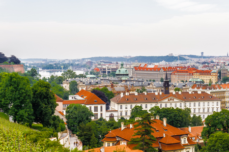 Foto de Prague, the capital of the Czech Republic. View from the Old town of Prague. - Imagen libre de derechos